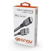 Cabo Lightning Essential de Nylon Trançado Geonav Cinza