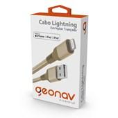 Cabo Lightning Essential de Nylon Trançado Geonav Dourado