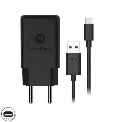 Carregador Motorola Turbo Power 18W USB-C