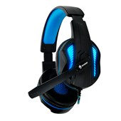 Fone de Ouvido Headset Gamer EG305BL/Thoth Azul C/ Fio Evolut