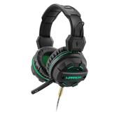 Headset Gamer Warrior Magne P2 + USB Com Led Verde PH143