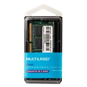 Memória Multilaser DDR3 SODIMM 4GB 1600 MHZ