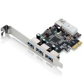 Placa PCI Express Multilaser 4XUSB3.0 (3+1)
