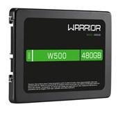 SSD Warrior, 480GB, W500, Gravação 500MB/s, Leitura 540MB/s